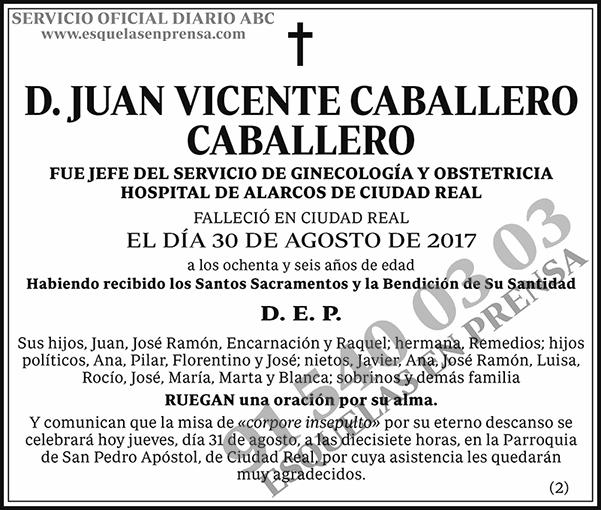 Juan Vicente Caballero Caballero